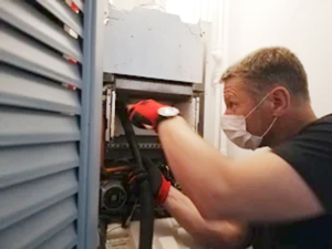 Intervention nettoyage chaudière murale au gaz