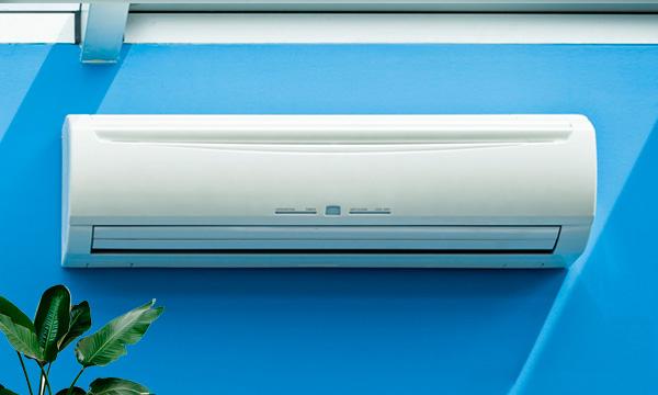 Fond installation climatisation